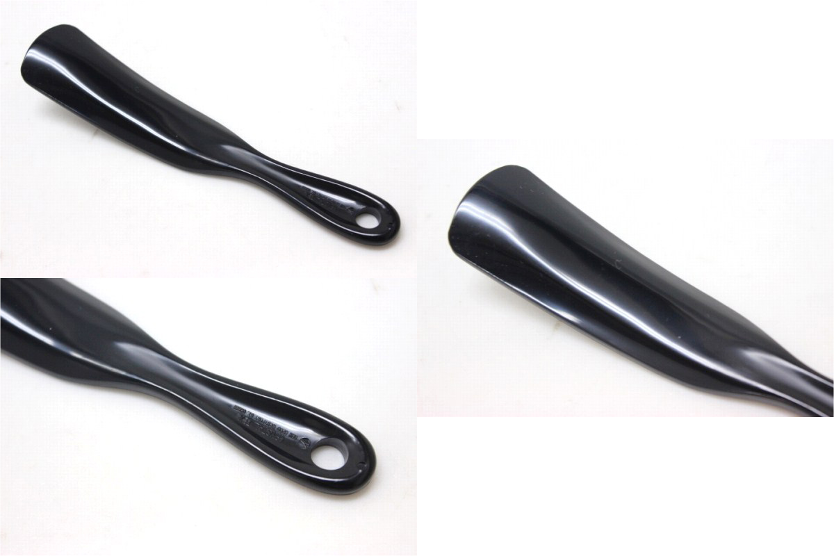 CHANEL Chanel shoehorn novelties for sale black unused pre KK.