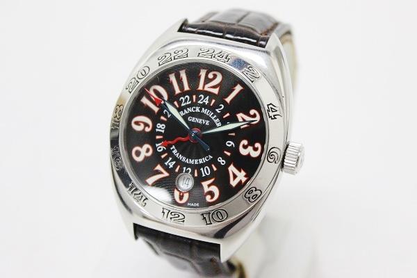 FRANCK MULLER Franck Muller Transamerica worldwide men's watch SS automatic winding 2000 WW 0601 Rakuten card Division