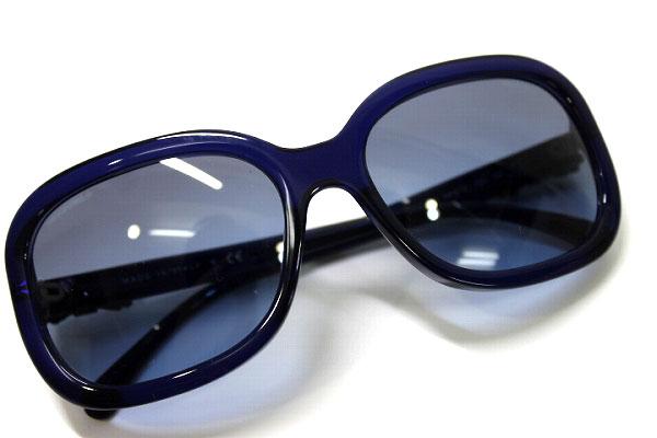 121b9358bcf6 BRANDSHOP REFERENCE  CHANEL Chanel Ribbon motif sunglasses blue 5280-Q-A KK  0601 Rakuten card