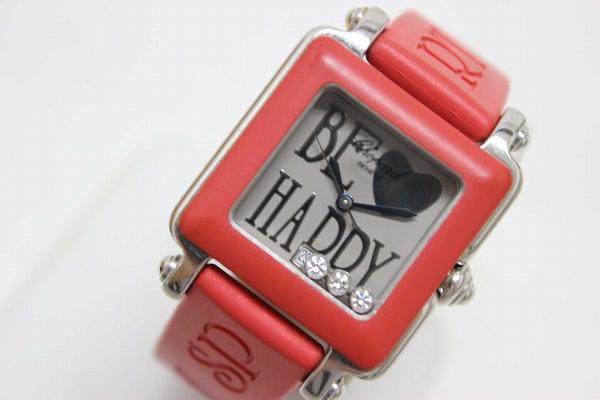 Chopard Chopard BE HAPPY2 be happy 2 ladies watch 3 P diamond quartz SS belt 27 / 8896 / 402 0601 Rakuten card Division