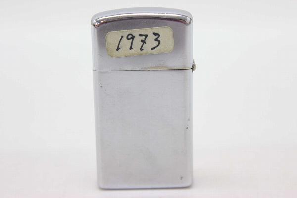 ZIPPO 芝宝、 1973 RCA 苗条油打火机银 KK 0601 乐天卡司