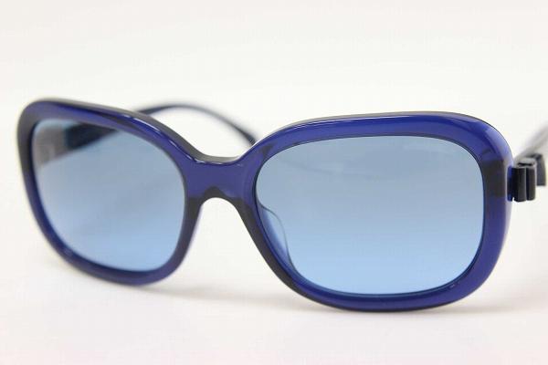 0f1f29fcb479 BRANDSHOP REFERENCE  CHANEL Chanel Ribbon sunglasses blue 5280-Q-A Mint KK  0601 Rakuten card