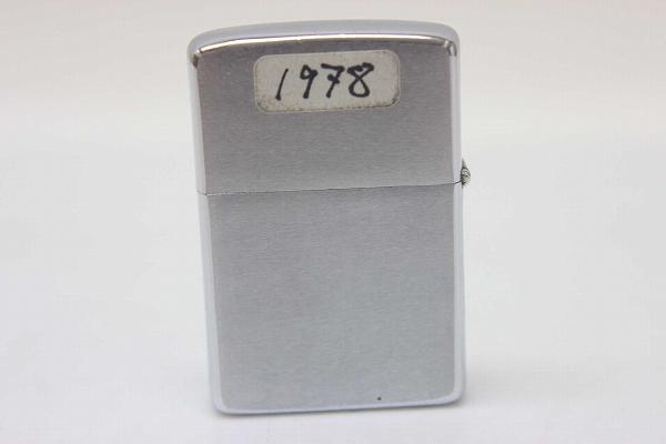 ZIPPO 芝宝 1978年佳能 f-1 油打火机银系列 KK 0601 乐天卡司