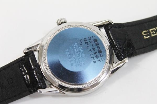 精工精工钻石休克男式手表 SS × 皮革腰带手滚 4S24 0070 薄荷 KK 0601 乐天卡司