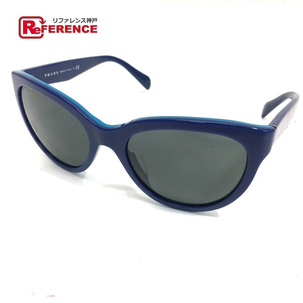 830ee2b03d949 BRANDSHOP REFERENCE  AUTHENTIC PRADA Sunglasses Blue SPR 05P-A ...