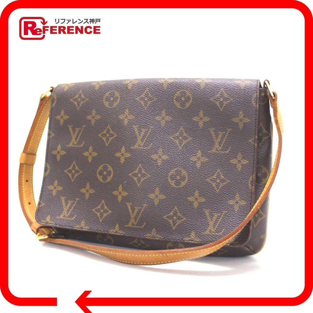 ab0fa6254384 AUTHENTIC LOUIS VUITTON Monogram Musette · Tango short strap Semi Shoulder  Bag Shoulder Bag MonogramCanvas M51257
