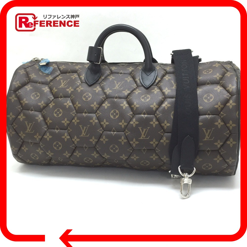 Authentic Louis Vuitton Unused Monogram Hexagon Neo Sporty 2wayduffle Bag Duffle Monogramcanvas M40398