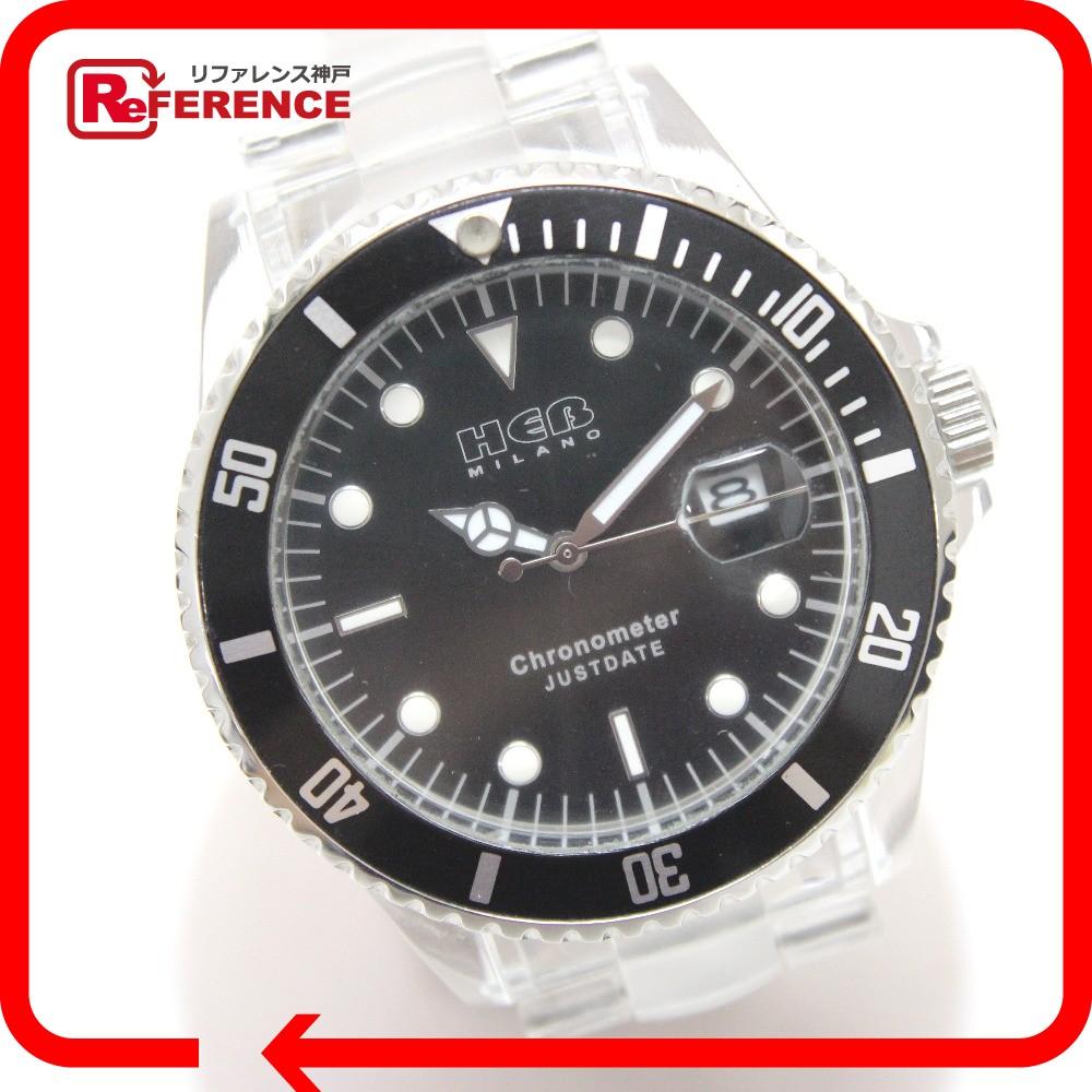 ヘブミラノ メンズ腕時計 腕時計 プラスチック/SS メンズ【中古】