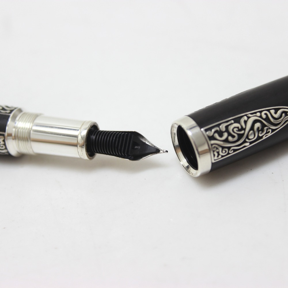 AUTHENTIC MONTBLANC 2007 Writers Edition Writers Series Alexander Von Humboldt  Fountain Pen AG925/Wood M28763