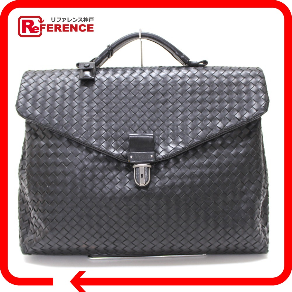 BOTTEGAVENETA Bottega Veneta Briefcase intrecciato business bag calf leather  mens 17e82559a1