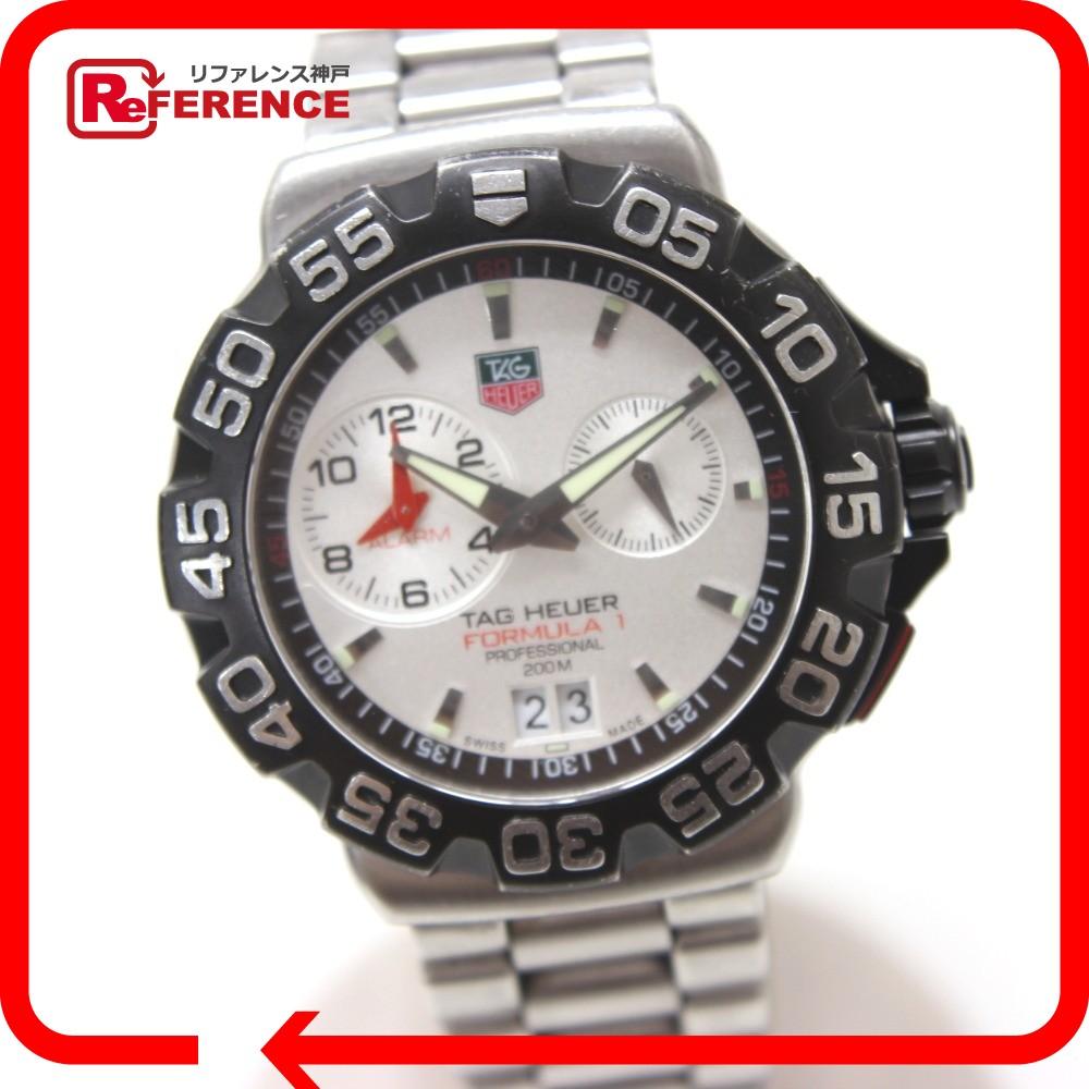 TAG HEUER タグホイヤー WAH111B プロフェッショナル 200M フォーミュラ1 腕時計 SS シルバー メンズ【中古】