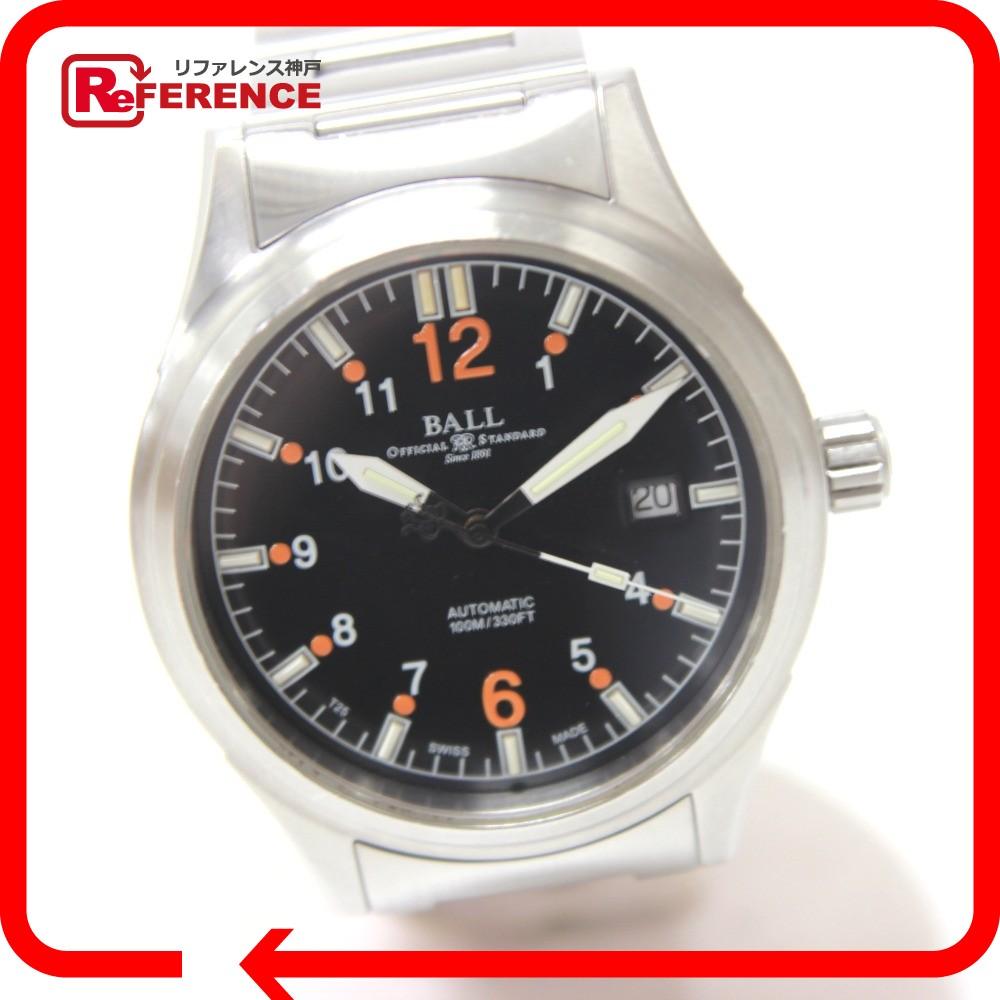 BALL WATCH ボール NM1088C ストークマン 腕時計 SS シルバー メンズ【中古】