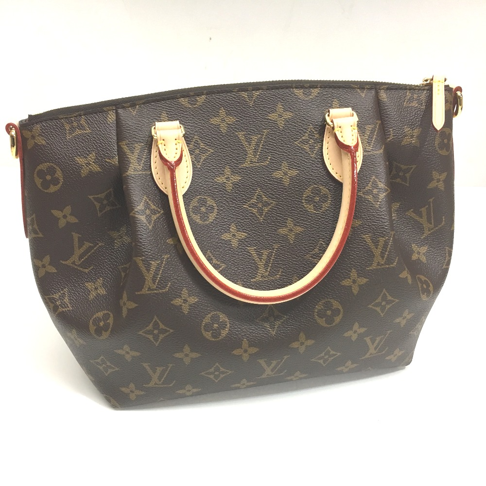 AUTHENTIC LOUIS VUITTON Monogram Tulane PM 2 WAY Hand Bag Shoulder Bag Hand Bag MonogramCanvas