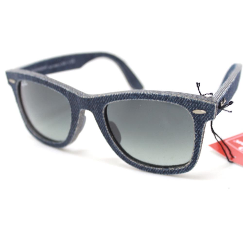 705677134e6 ... ebay authentic ray ban wayfarer wayfarer denim sunglasses blue denim  plat stick rb2140 f 3e410 2a0ad