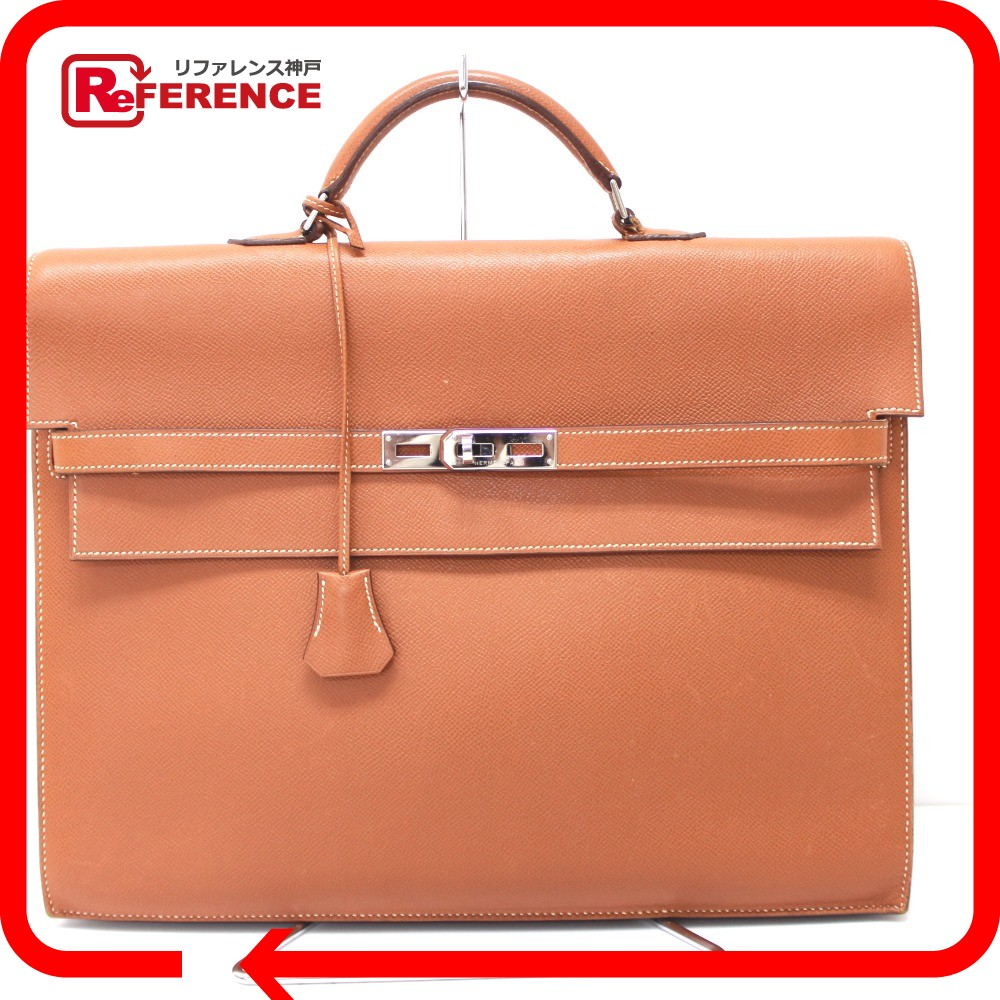 ... low cost authentic hermes kelly depeche 38 briefcase business bag gold  silverhardware epsom e8c52 cd1a3 93e892cf63783