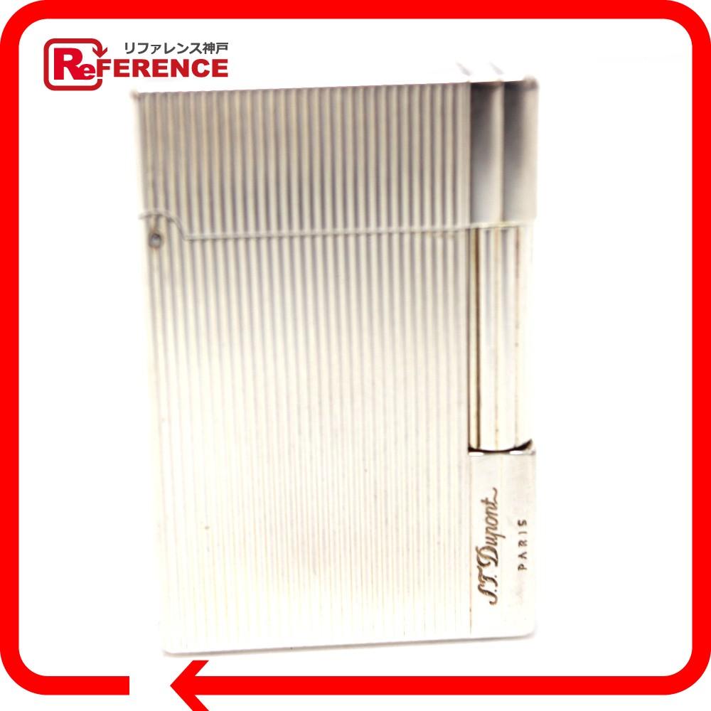Dupont デュポン ガスライター メンズ レディース ギャッツビー ライター 真鍮 シルバー ユニセックス【中古】