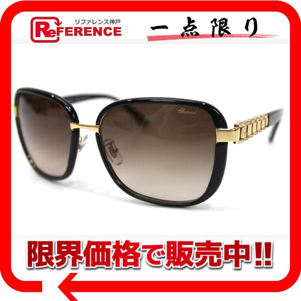 Chopard ショパール SCHA64S ファッション小物 メンズ レディース サングラス プラスチック ブラック ユニセックス 新品同様【中古】