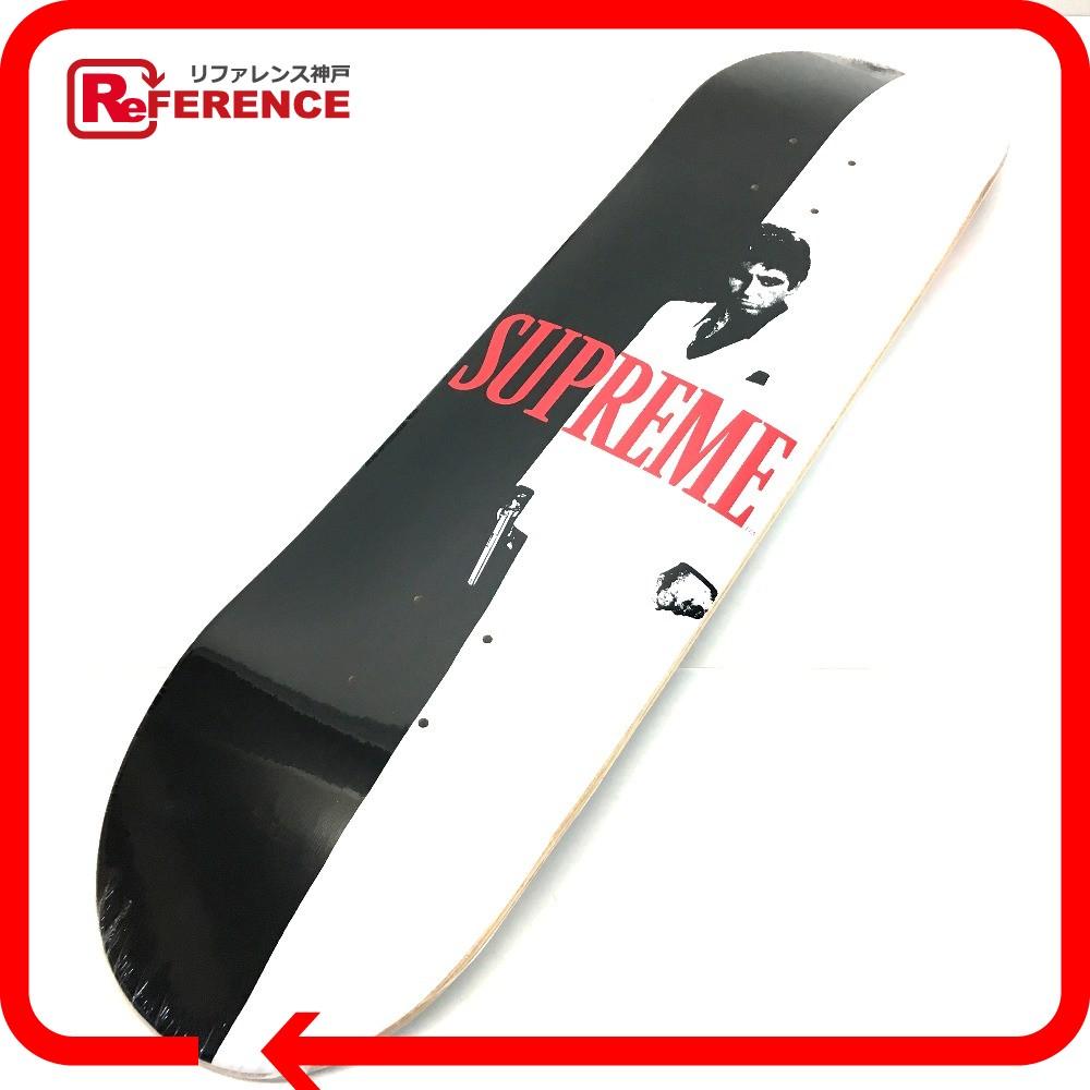 Supreme シュプリーム スケートボード 板 デッキ SCARFACE split skateboard スカーフェイス その他 ホワイト ユニセックス 未使用【中古】