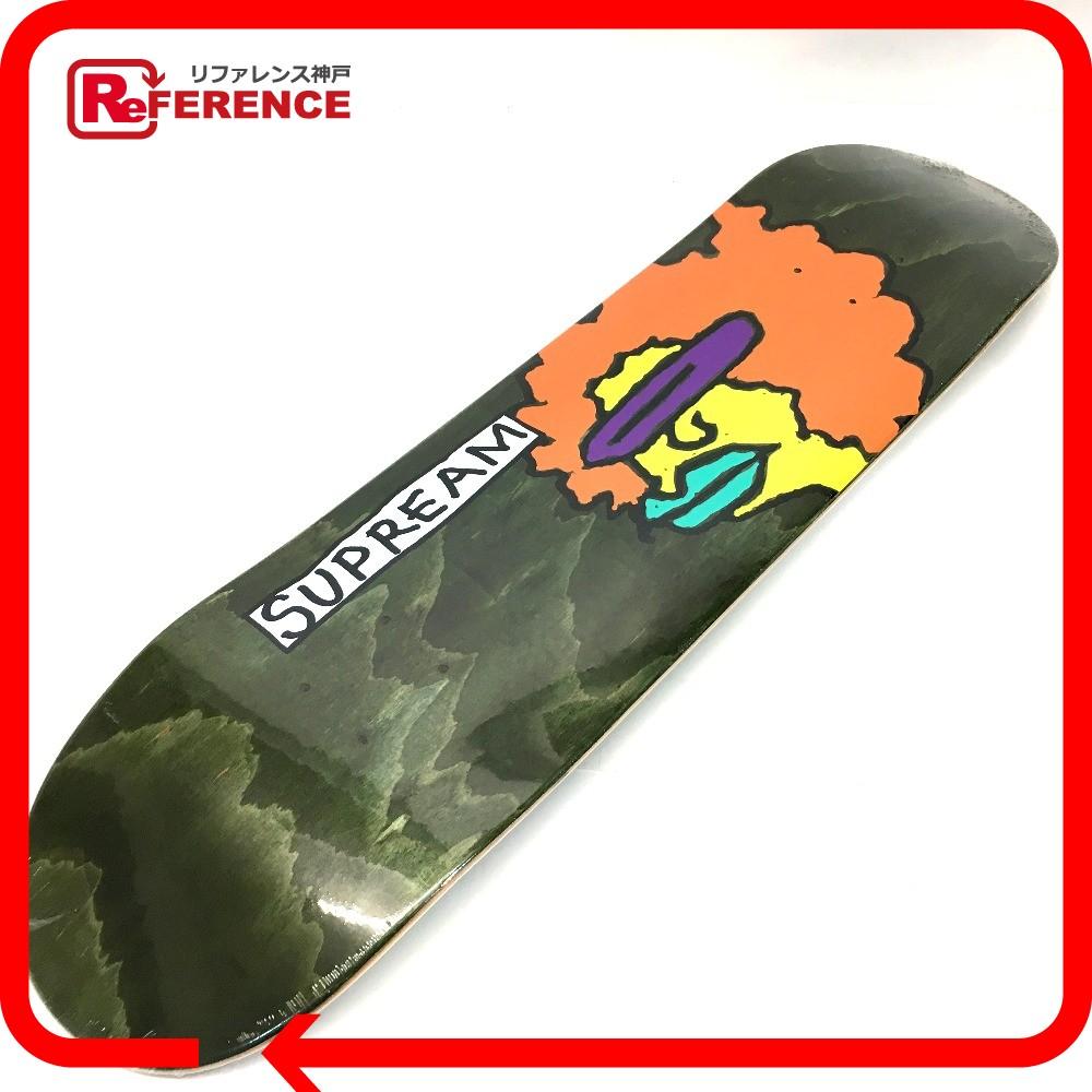 Supreme シュプリーム スケートボード 板 デッキ Supreme×Mark Gonzales シュプリーム×マーク・ゴンザレス その他 グリーン ユニセックス 未使用【中古】