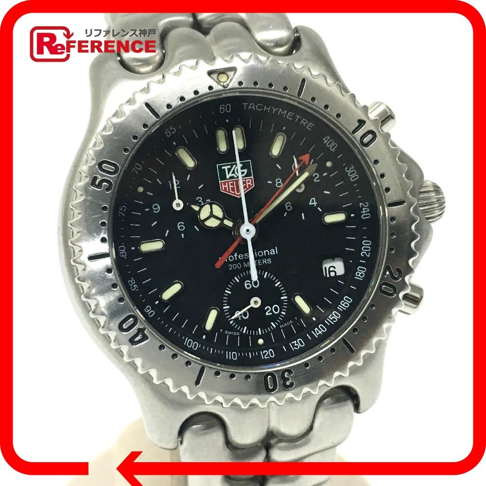 TAG HEUER タグホイヤー CG1110-0 メンズ腕時計 プロフェッショナル セルシリーズ 腕時計 SS シルバー メンズ【中古】