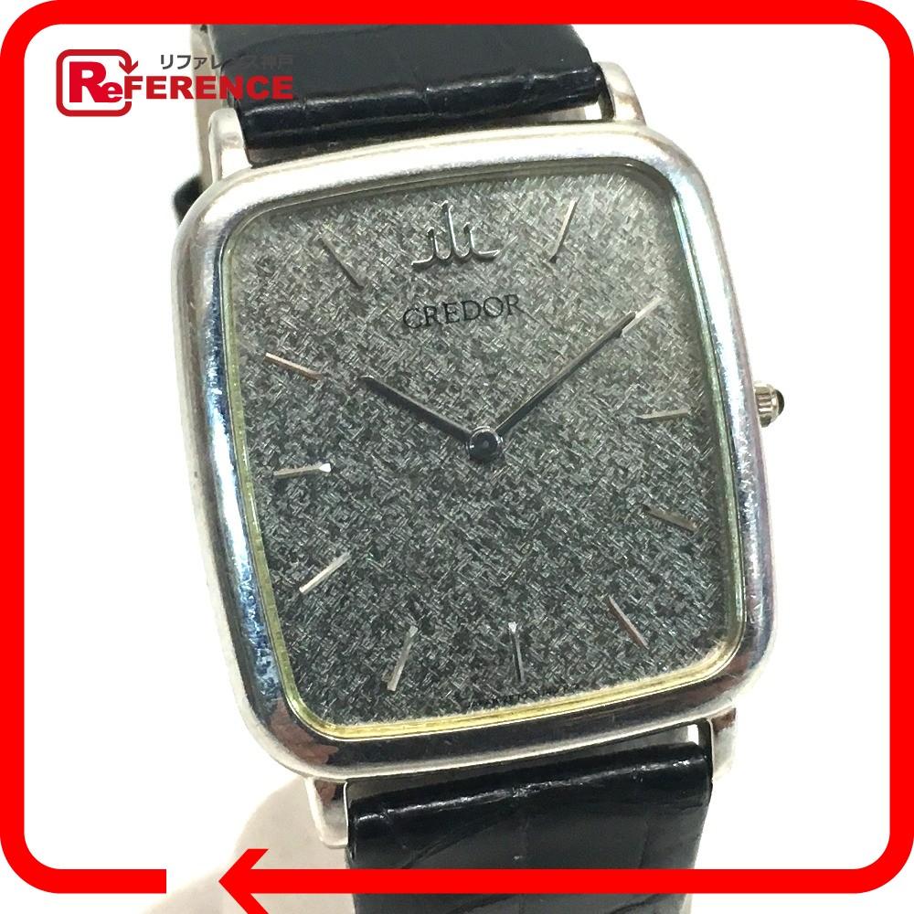 SEIKO セイコー 2F70-6270 メンズ腕時計 クオーツ Pt900無垢 クレドール 腕時計 Pt900 プラチナ メンズ【中古】