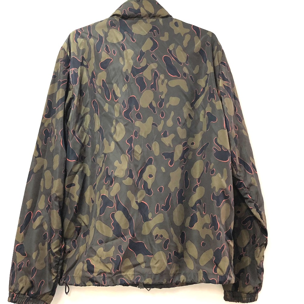 AUTHENTIC MONCLER Moncler Japan Camouflage pattern camouflage pattern Jacket outer jumper Parker Green Nylon