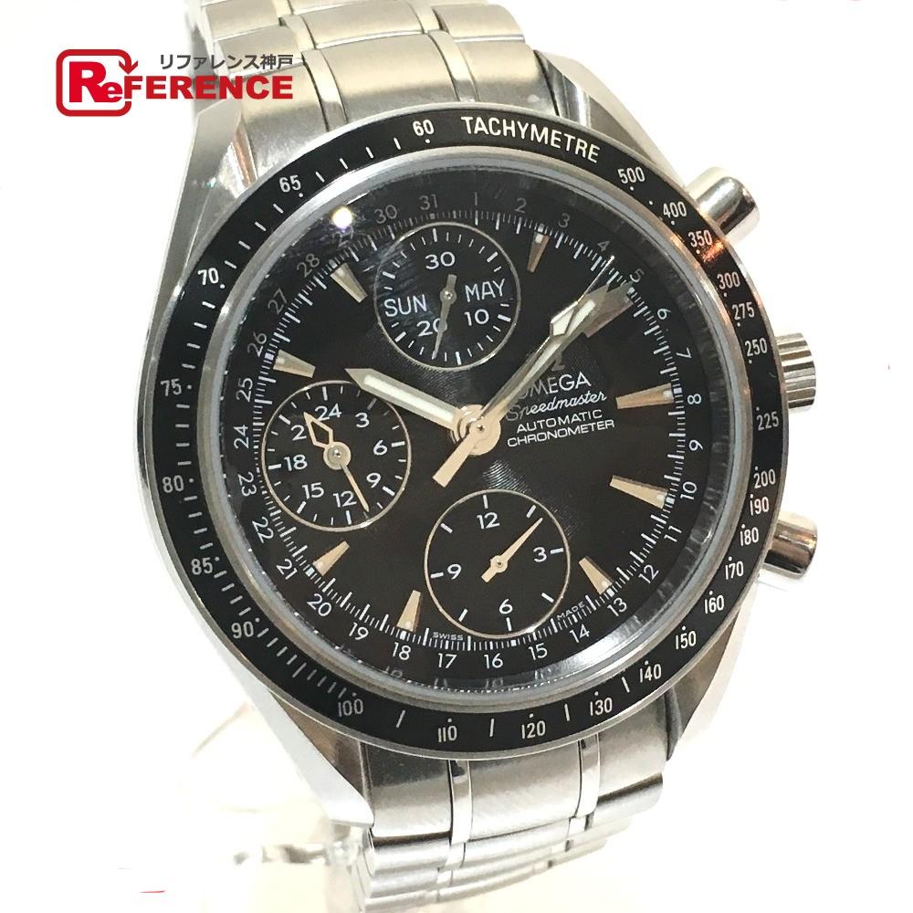 OMEGA オメガ 3220.50 メンズ腕時計 スピードマスター デイデイト クロノメーター 腕時計 SS シルバー メンズ【中古】