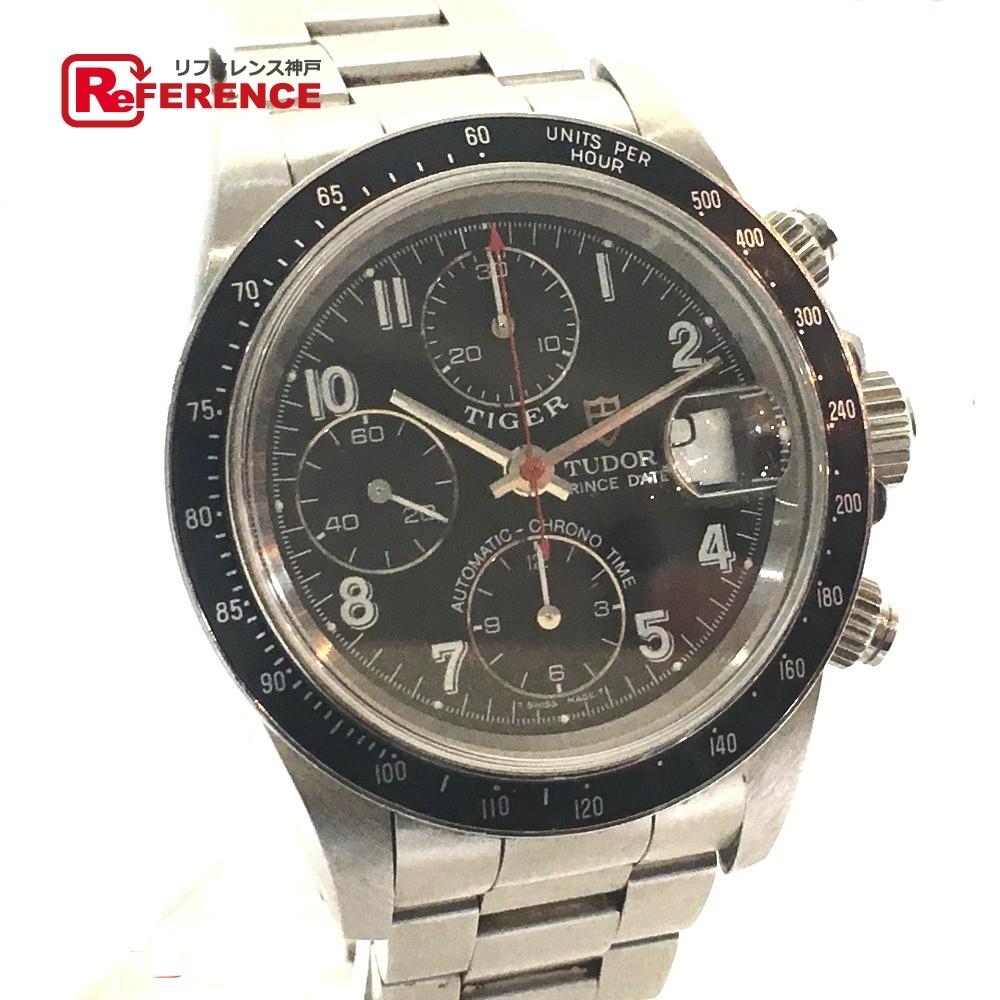 TUDOR チュードル 79260 メンズ腕時計 クロノタイム プリンスデイト 腕時計 SS シルバー メンズ【中古】