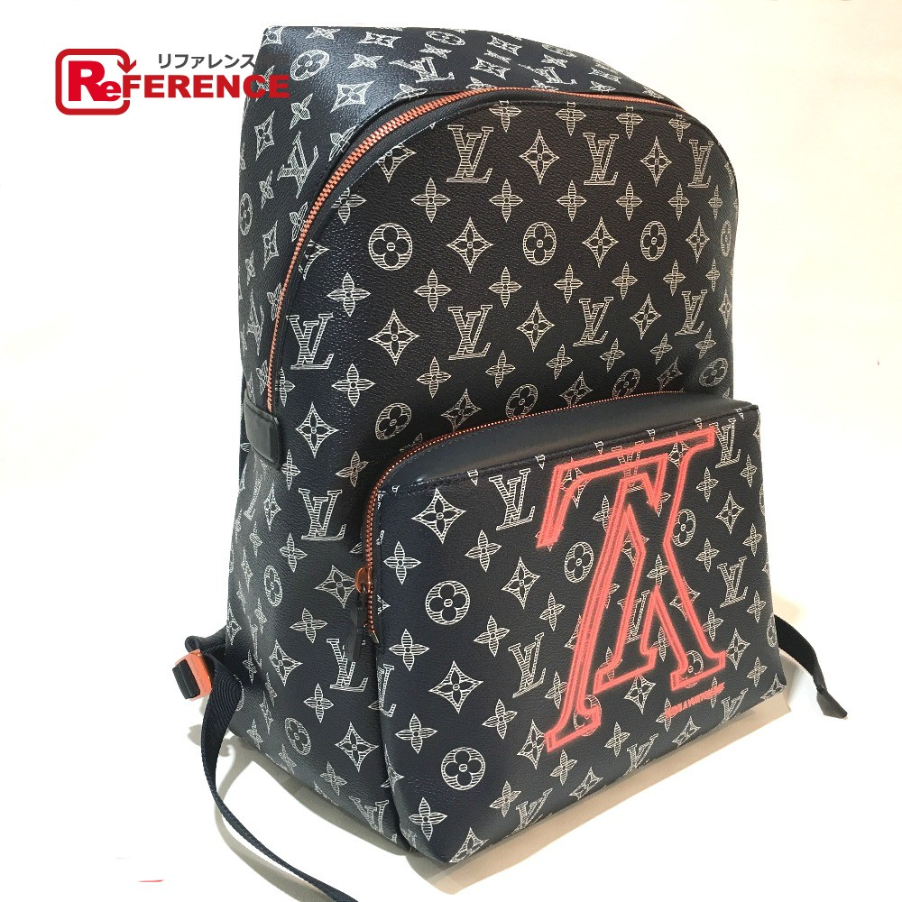 a303c122b5c2 AUTHENTIC LOUIS VUITTON Monogram - Ink Apollo - Backpack Upside Down  Backpack - Daypack MonogramCanvas M43676