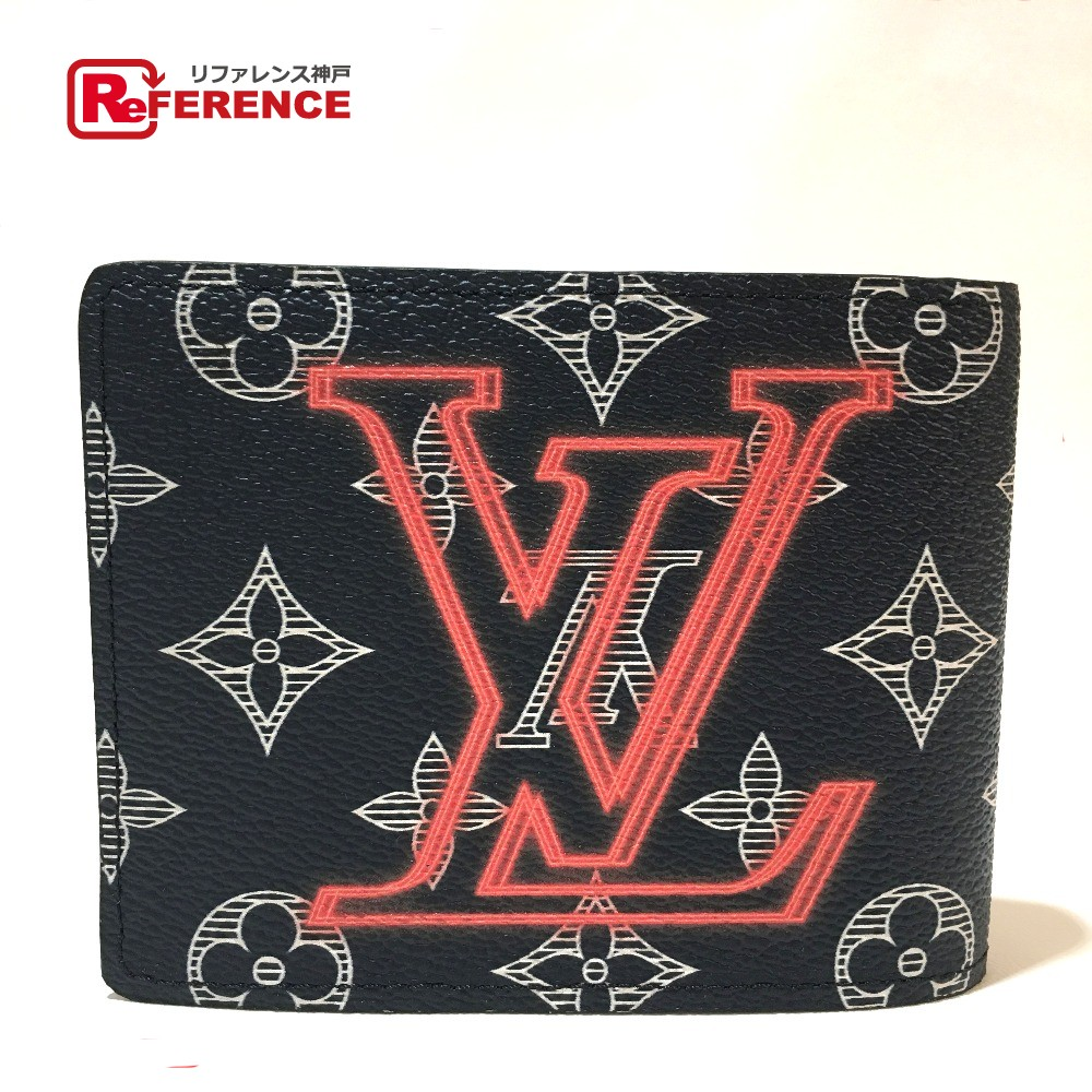 AUTHENTIC LOUIS VUITTON Monogram - Ink Portefeuille - Murthipur Upside Down  Bill Compartment Bifold Wallet MonogramCanvas M62891 7757d7a41e2