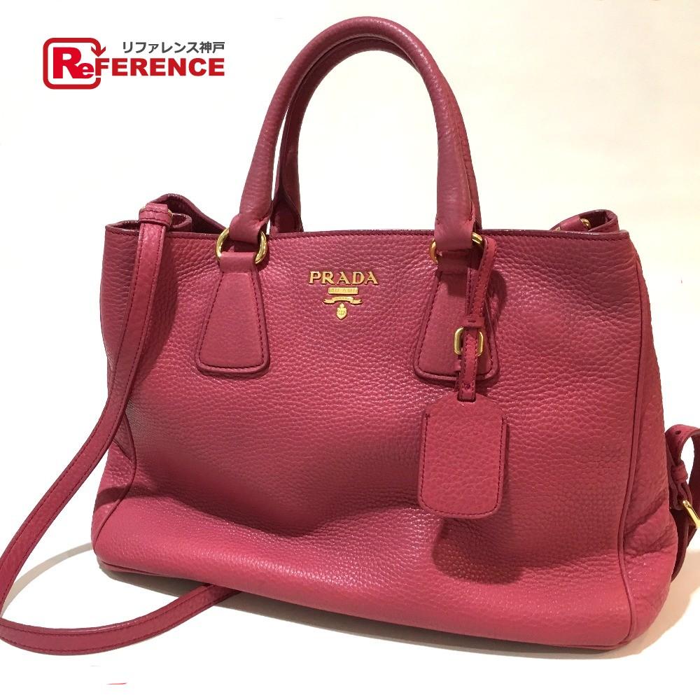 8fcc6154c6ff04 ... ireland prada prada bn2579 2way tote bag shoulder bag leather pink lady  e69ef 56955