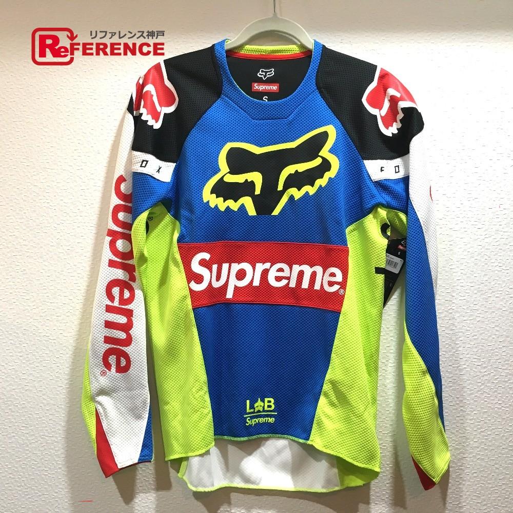 20dd479f03 Supreme シュプリームジャージトップ Supreme Fox Racing Moto Jersey Top 18SS シュプリーム X Fox  racing long ...