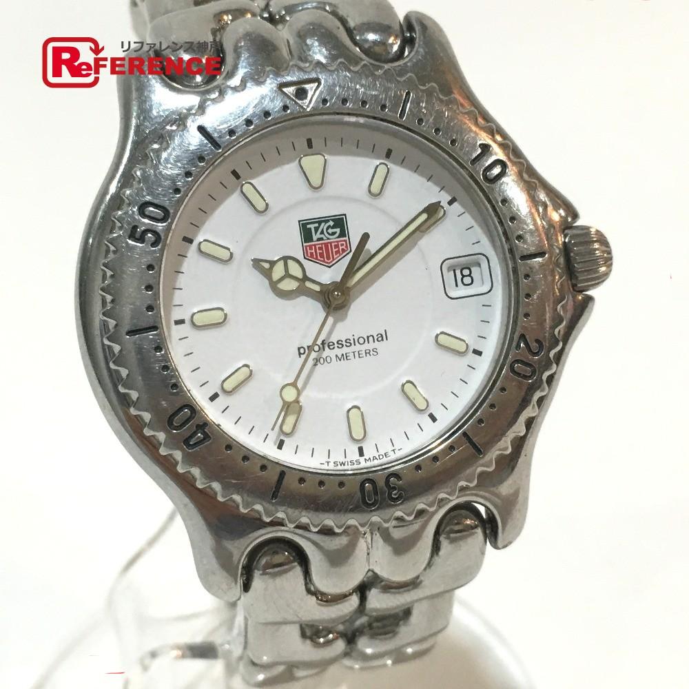 TAG HEUER タグホイヤー S99.006M メンズ腕時計 プロフェッショナル 200mm セルシリーズ 腕時計 SS シルバー メンズ【中古】