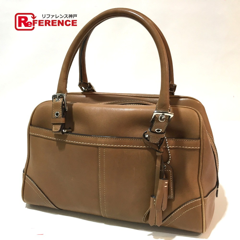 ... coupon for authentic coach hand bag duffle bag brown leather 8a69 f2e9b  e100f 7ab96524f4932