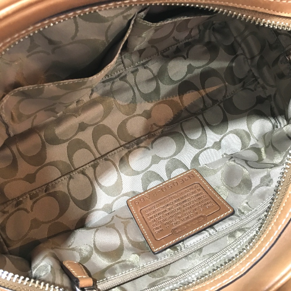 119026a44 BRANDSHOP REFERENCE: AUTHENTIC COACH Hand Bag Duffle Bag Brown ...