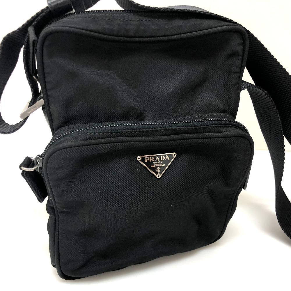 9af461e90dd0 BRANDSHOP REFERENCE: AUTHENTIC PRADA Pochette Shoulder Bag Black ...