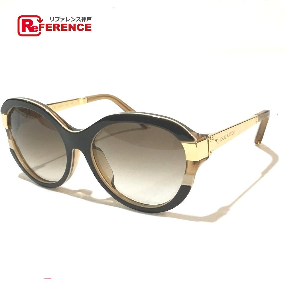 a4398408d068 Authentic louis vuitton unused petitpson cat eye mens womens sunglasses  maron metal acetate jpg 1000x1000 Louis