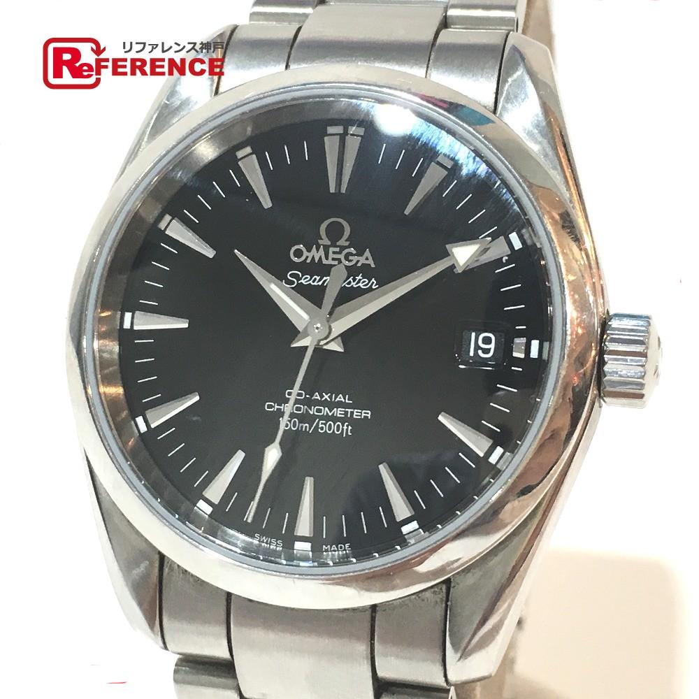OMEGA オメガ 2504.50 メンズ腕時計 シーマスター アクアテラ コーアクシャル 腕時計 SS シルバー メンズ【中古】