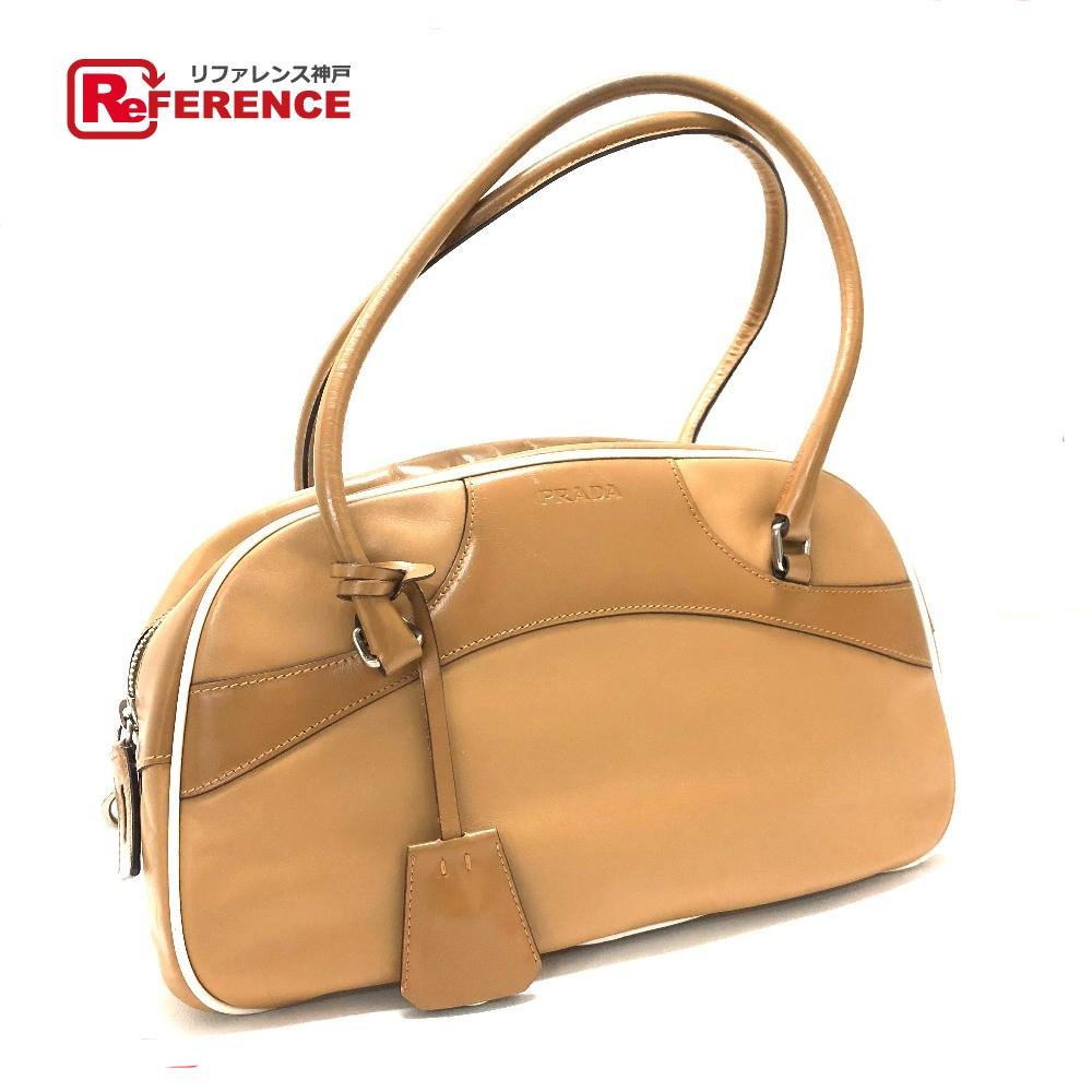 fd31ad1893c0 BRANDSHOP REFERENCE: AUTHENTIC PRADA Bowling bag Tote Bag Shoulder ...
