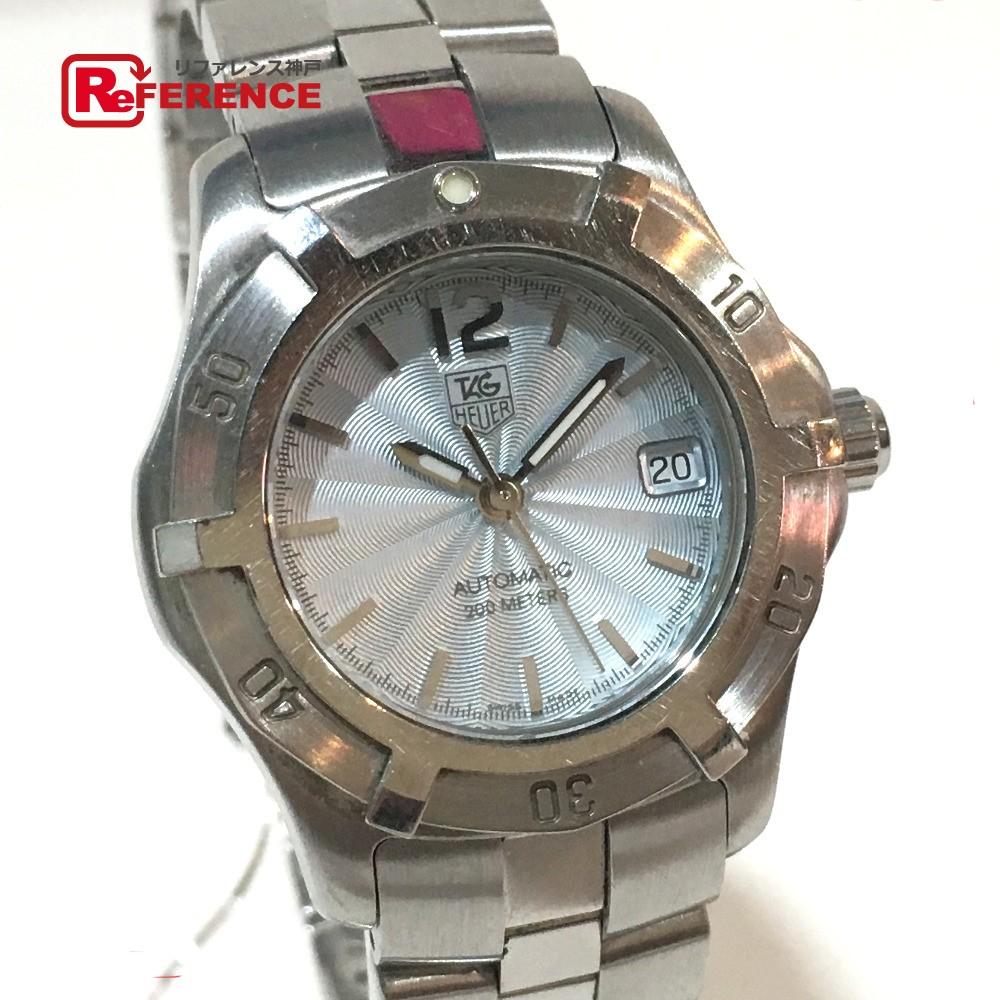 TAG HEUER タグホイヤー WN2311 レディース腕時計 アクアレーサー 腕時計 SS シルバー レディース【中古】