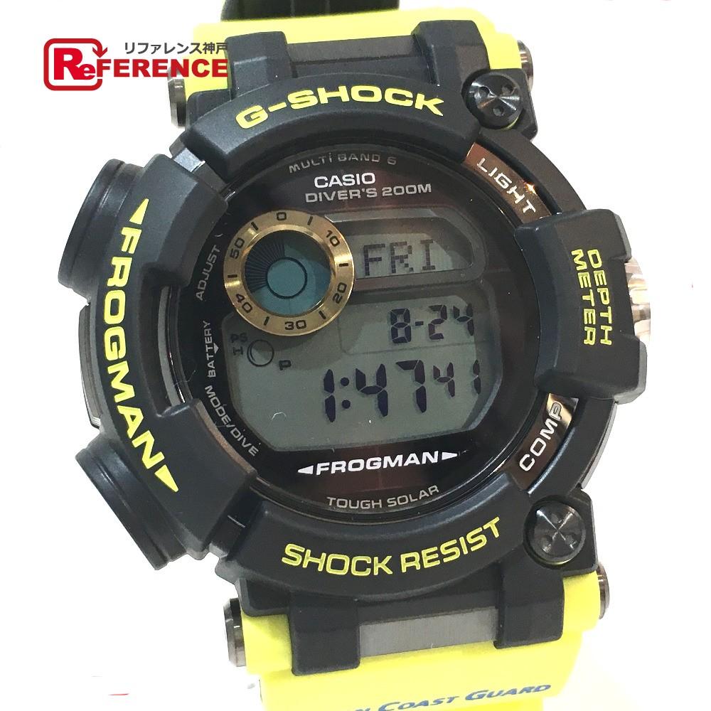 CASIO カシオ GWF-D1000JCG-9JR メンズ腕時計 G-SHOCK FROGMAN 海上保安制度創設70周年記念 腕時計 SS/ラバーベルト イエロー メンズ 未使用【中古】