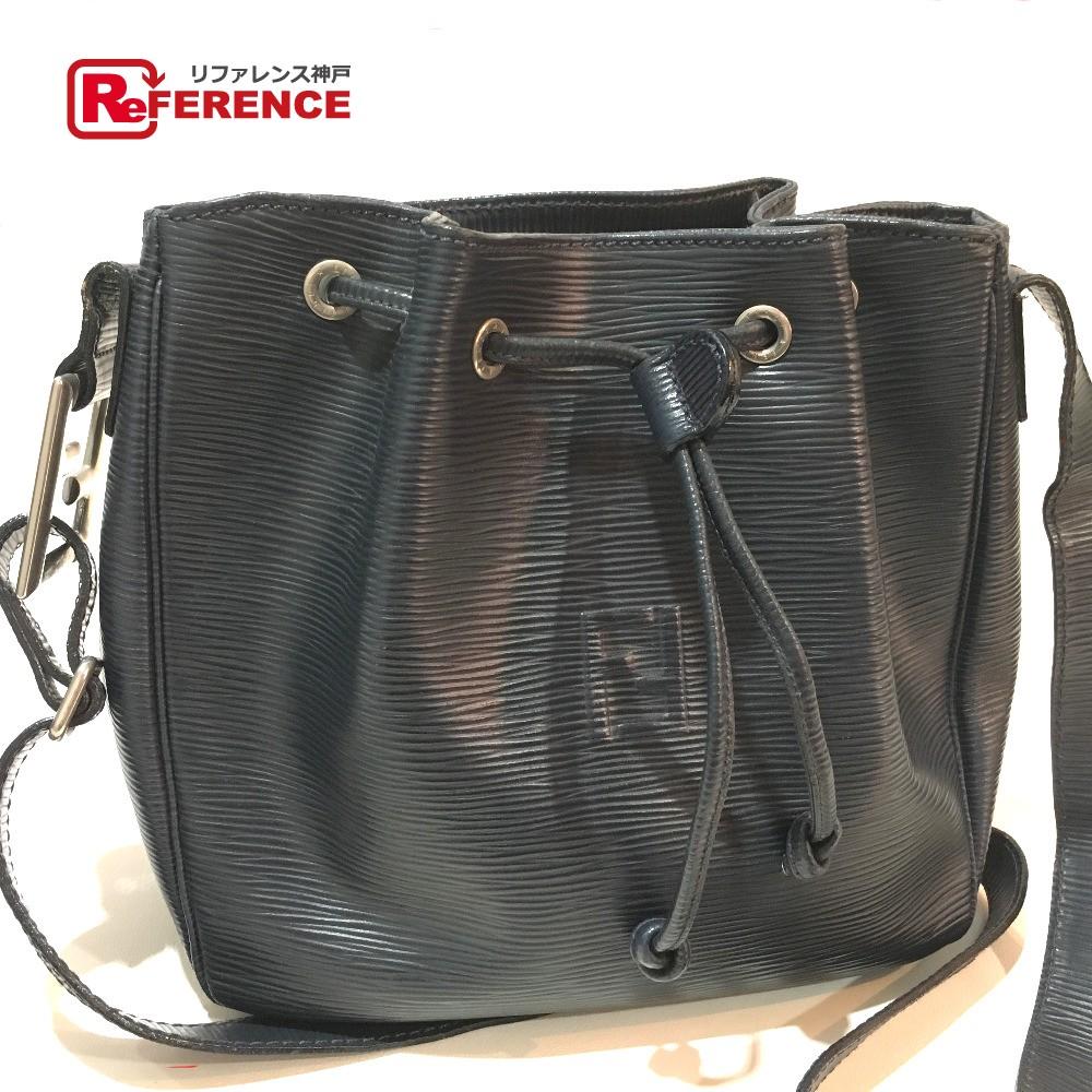 ... sale authentic fendi vintage purse crossbody shoulder bag black leather  448d2 72d03 ... 8fb742dea7