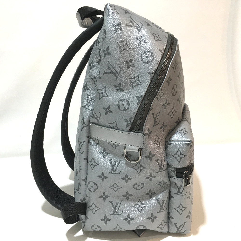 4871d090cbd2 AUTHENTIC LOUIS VUITTON Unused Monogram reflect Apollo - Backpack Backpack  Town Backpack Backpack-Bag Silver Black MonogramCanvas M43845