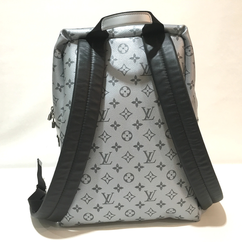 c5266e5409dd AUTHENTIC LOUIS VUITTON Unused Monogram reflect Apollo - Backpack Backpack  Town Backpack Backpack-Bag Silver Black MonogramCanvas M43845