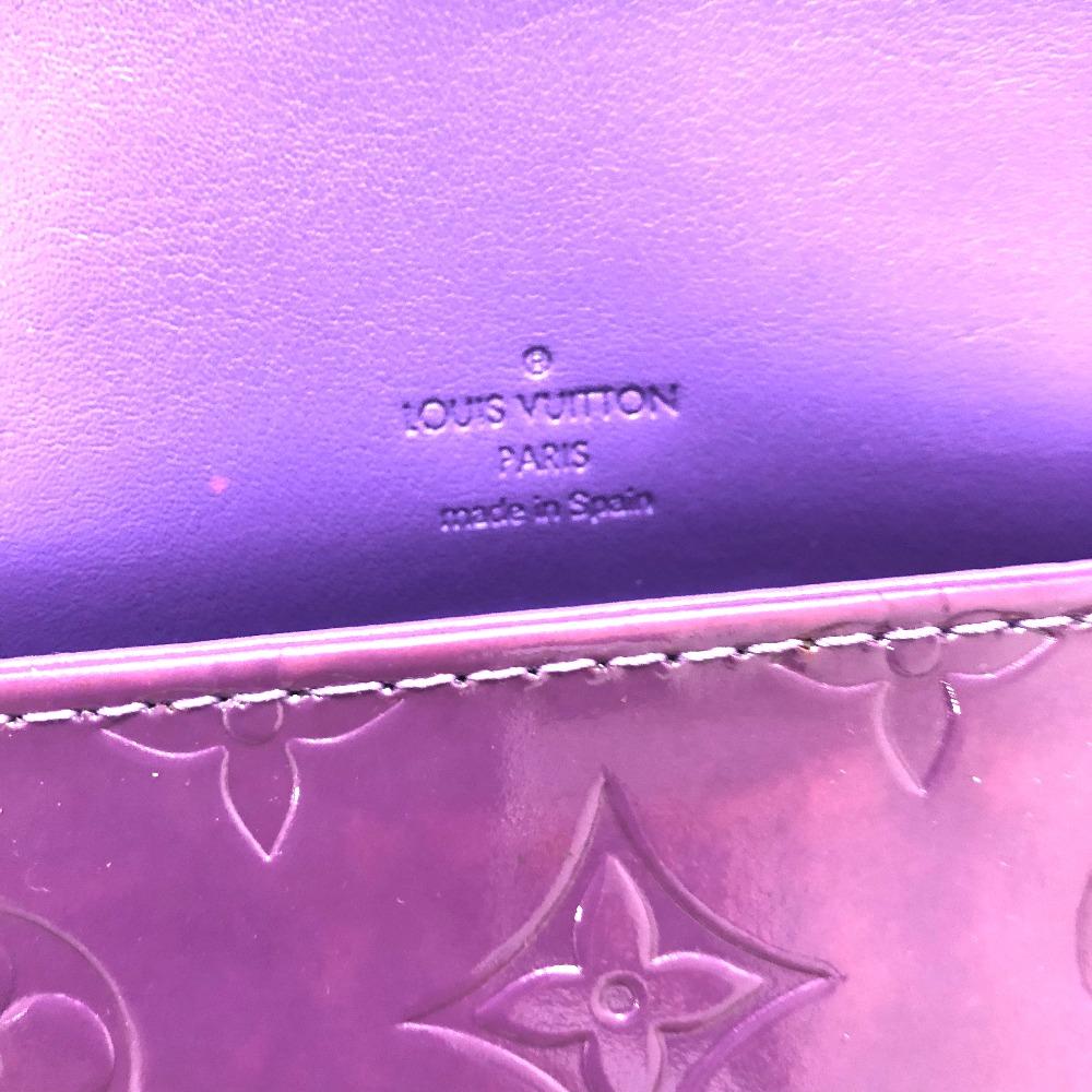 8f796ef40b41 AUTHENTIC LOUIS VUITTON Monogram-Vernis Thompson - Street Semi Shoulder Bag  Shoulder Bag purple Patent Leather M91095