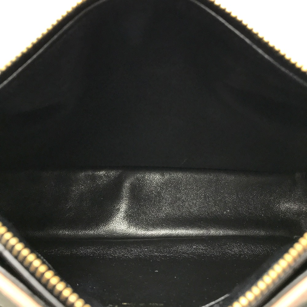 e497547b897a8a ... AUTHENTIC CHANEL Chocolate bar Jacket motif Shawls ChainShoulder Bag  Shoulder Bag Black/Pink Beige Calf ...