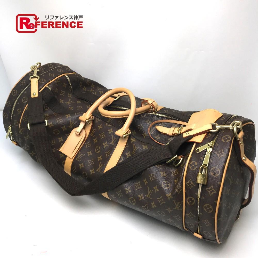 LOUIS VUITTON ルイ・ヴィトン M92961 ショルダーバッグ 旅行バッグ 2WAY サック・アスレティズム  モノグラム ボストンバッグ モノグラムキャンバス ブラウン レディース【中古】