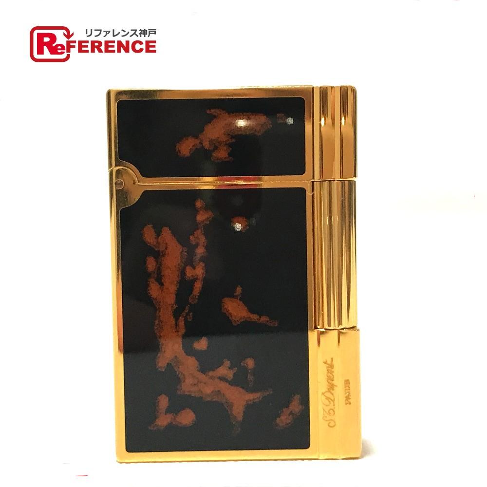 Dupont デュポン メンズ レディース ガスライター ギャッツビー ガスライター デュポン ライター メンズ 真鍮 ブラック×ゴールド ユニセックス【中古】, DEFF大きいサイズメンズ:cd340e47 --- officewill.xsrv.jp