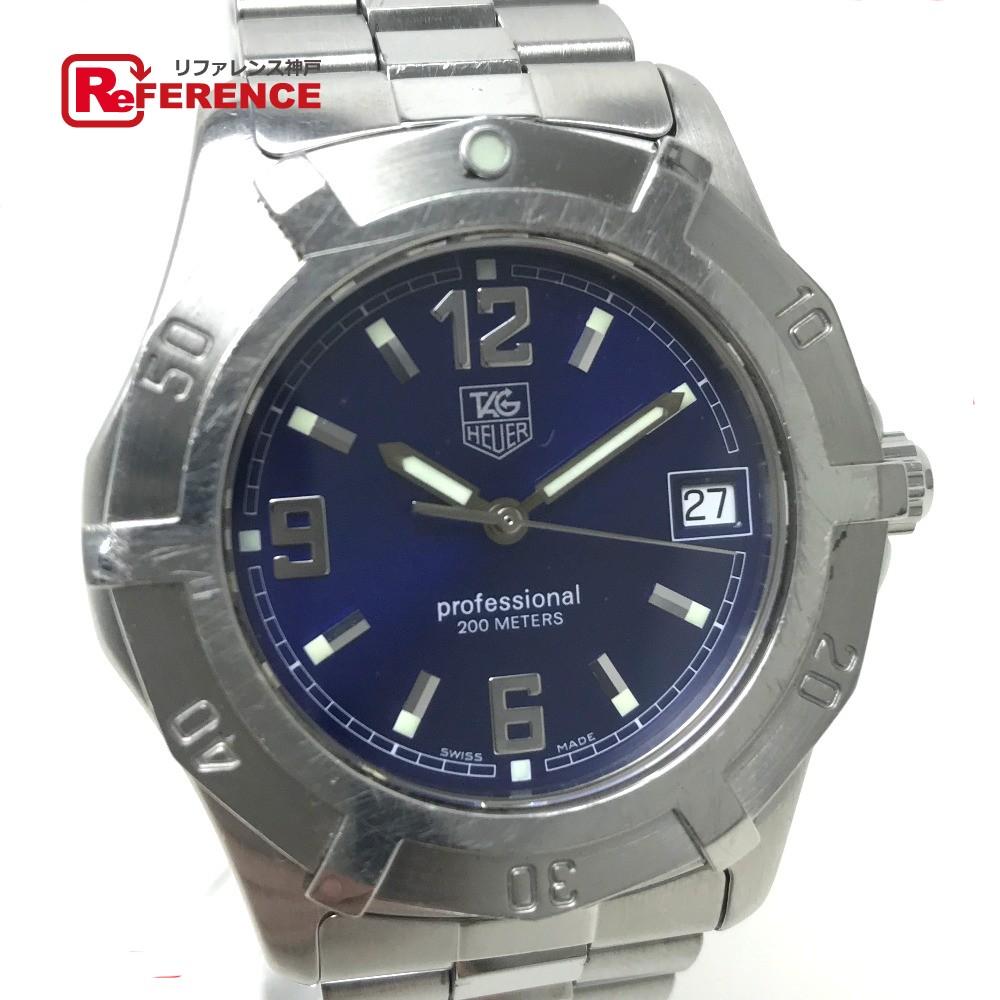 TAG HEUER タグホイヤー WN1112 メンズ腕時計 2000エクスクルーシブ プロフェッショナル200M 腕時計 SS シルバー メンズ【中古】