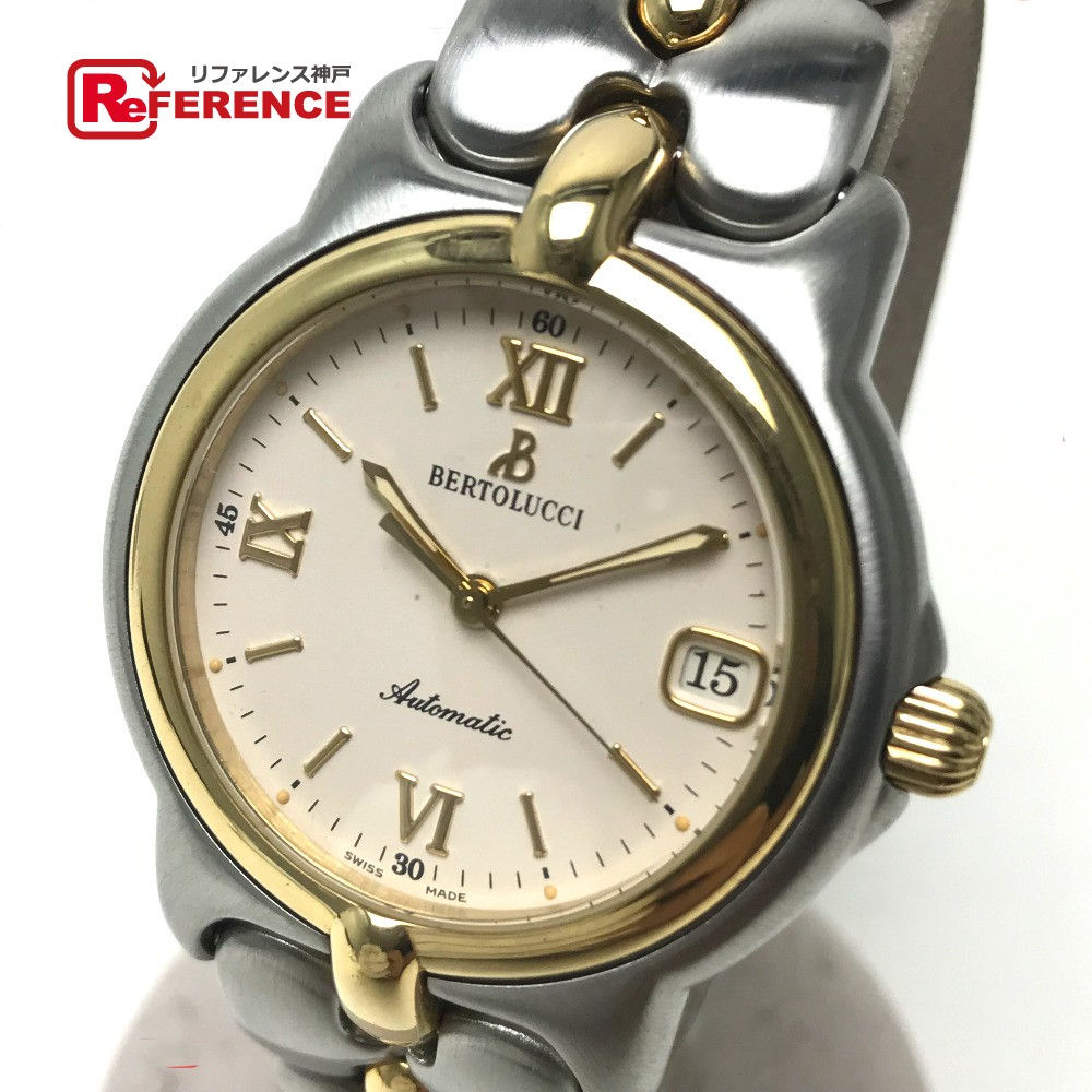 Bertolucci ベルトルッチ メンズ腕時計 オートマチック プルクラ 腕時計 SS/GP シルバー メンズ【中古】